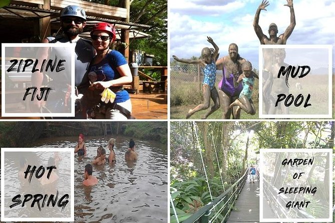 Adventure Tour - Zipline, Mud Pool, Hot Springs & Garden Of The Sleeping Giant
