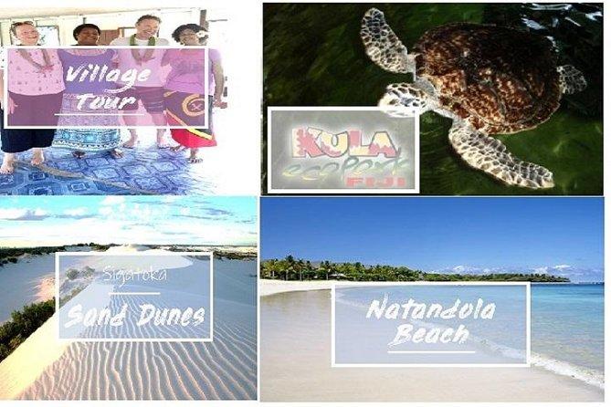 Inland Village Tour - Kula Park - Sigatoka Sand Dunes - Natandola Beach