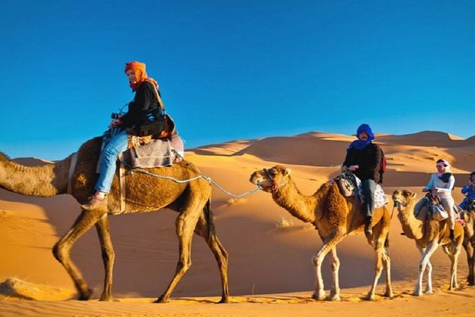 Shared Marrakech To Fes Desert Tour 3 Days With Luxury Accommodations