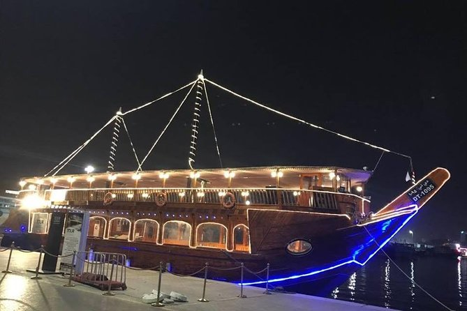New Abu Dhabi Dinner Cruise With Transfers