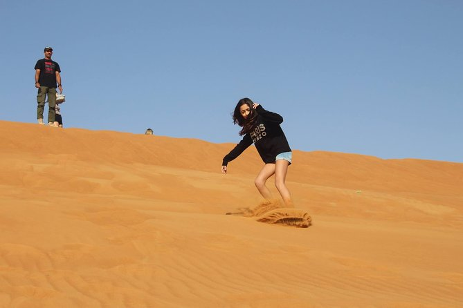 Desert Safari in Dubai with Sand Boarding - Adventure Package