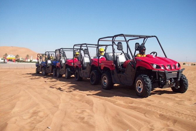 Dubai Evening Desert Safari With Dune Buggy Self Ride