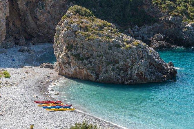 Half-Day Sea Kayaking Activity in Stoupa and Kardamili