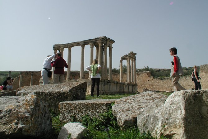 Dougga Guided Day Tour from Sousse