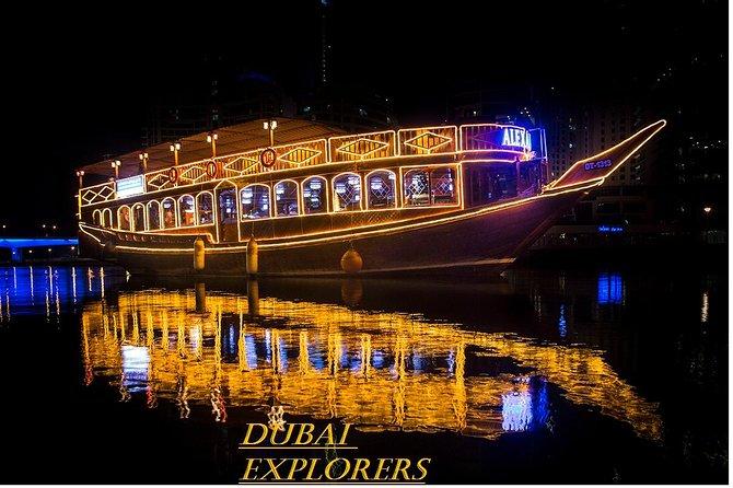 Creek Dhow Cruise com jantar em Dubai