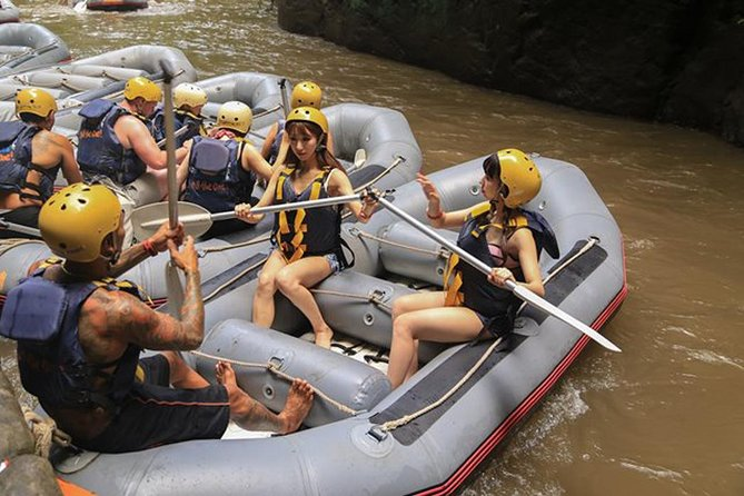 Amazing 5 Star Mason Adventure Rafting-Lunch-Tirta Empul Temple-Ubud-Private Car