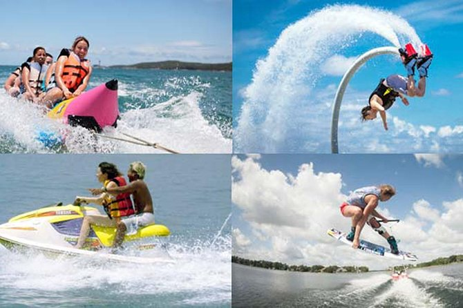 Water Sport Private Tour-Water blow-Paraseling Adventure-Banana boat-Jet sky