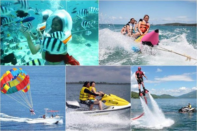 Water Sport Private Tours-Banana Boat Jet Sky-Fly Fish-Sea Walker-Uluwatu Temple