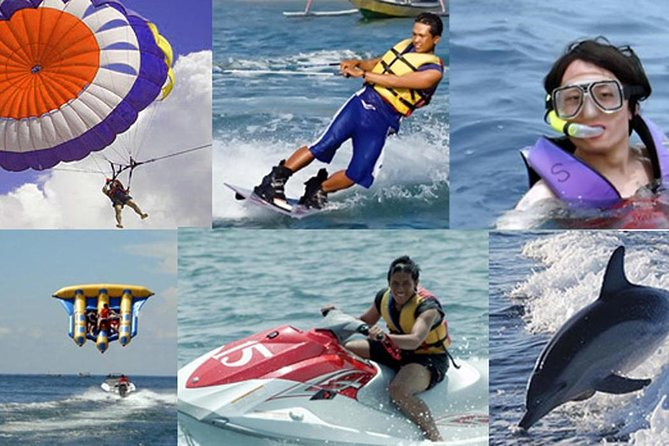 The Best Deal Price Water Sport Tour At Tanjung Benoa Beach And Uluwatu Temple