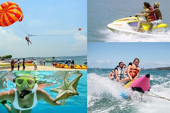 Private Tours-Benoa Water Sport-Water Blow-Parasailing-Sea Walker-Uluwatu-temple