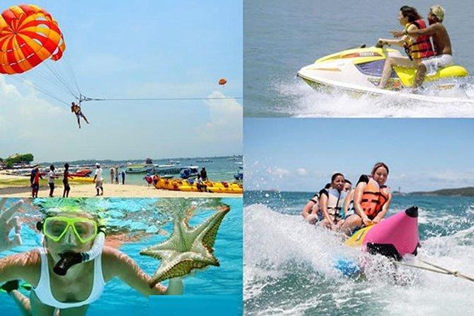 Tanjung Benoa Water Sport-Water Blow-Parasailing-Sea Walker-Uluwatu-temple