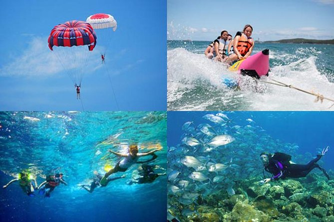 Private Tour-Water Sport In Bali-Parasailing Adventure-Banana Boat-Tubing Ride