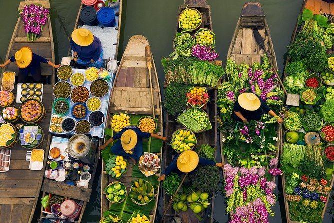 Private Tour: Damnoen Saduak Floating Market Tour from Bangkok