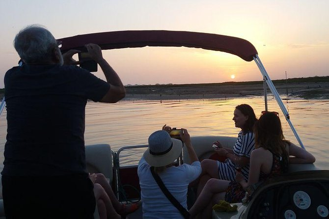 Ria Formosa Small-Group Catamaran Sunset Tour from Faro