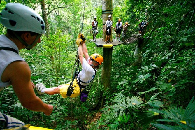 Adventure Combo Tour: Zipline and Tortuguero Canals