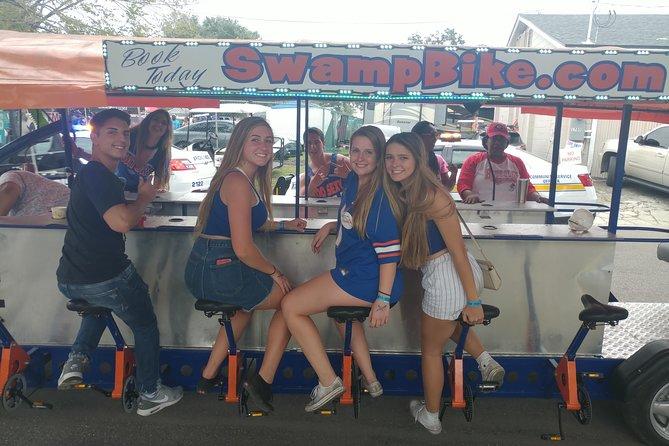 Swampbike Pub Crawl Party Fun Bike