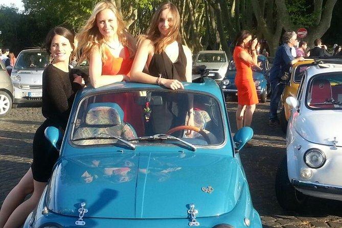 Fiat 500 Vintage Tour in Rome
