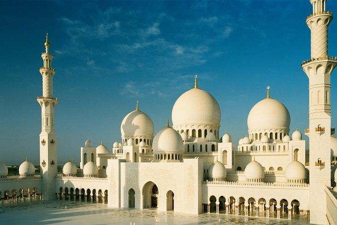 Full-Day Abu Dhabi City Tour with Louvre Museum (From Dubai) Semi-Private