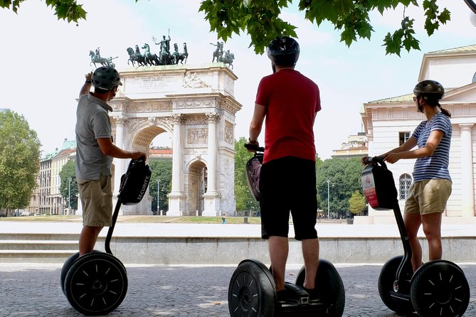 Private Milan Segway Tour - 3 Hours & half - afternoon