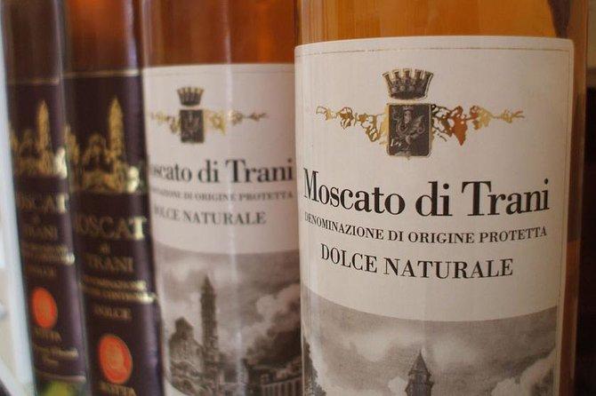 Private Tour: Trani walking tour with Moscato wine tasting