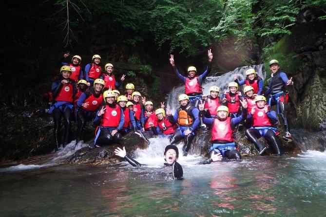 1 day Rafting & Canyoning tour at Minakami, Gunma