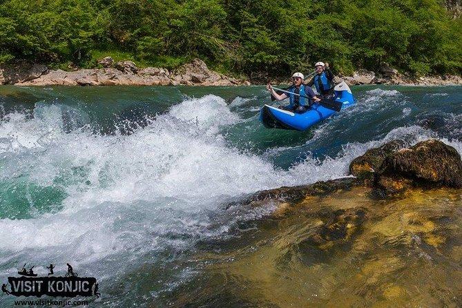 Canoeing Neretva river