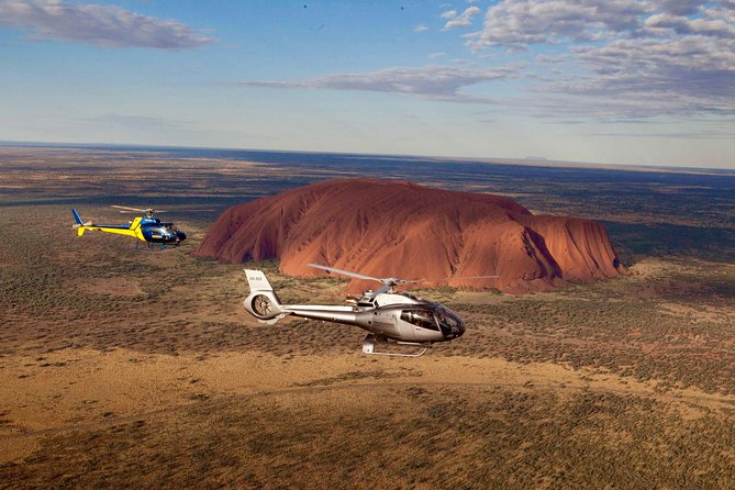 Uluru and Kata Tjuta Scenic Helicopter Flight