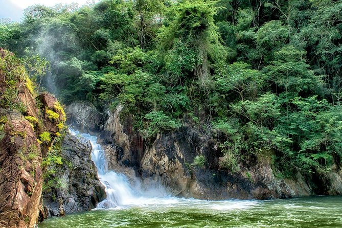 Jungle Pontoon Waterfall Adventure Tour