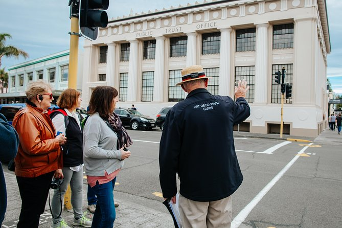 Guided 4:30pm Evening Art Deco Walk from Napier Art Deco Trust