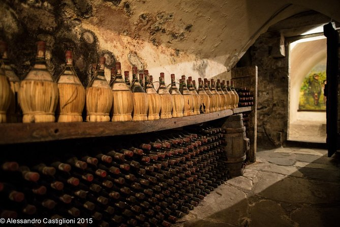 Chianti Wine and EVO Oil tasting in a 900year old castle 10 miles from Florence