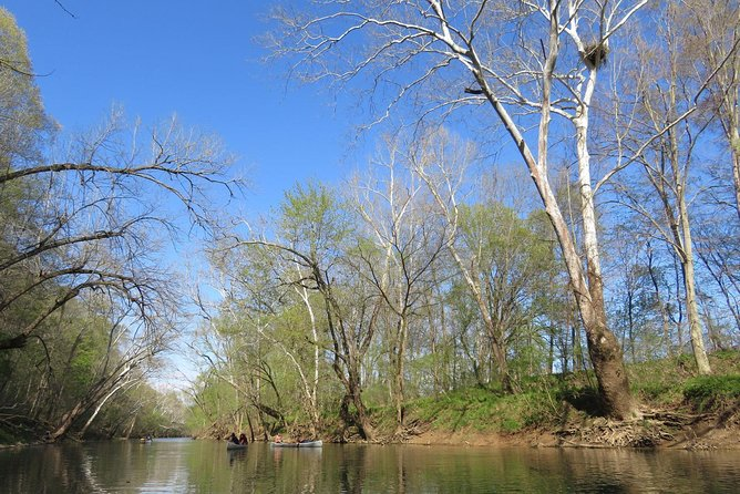 Two Person Single Day Trip with Canoe Along The Blue River in Indiana
