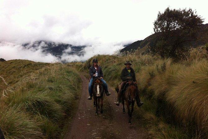 パラモ日帰り旅行:乗馬と温泉