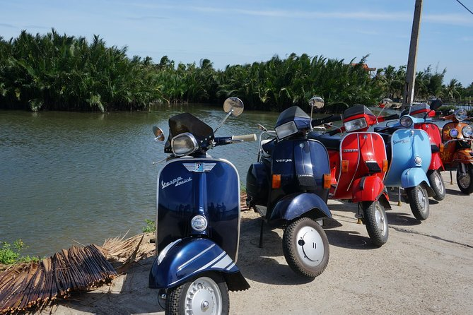 VINTAGE VESPA: Explore Cam Thanh Coconut Palm AND Tra Que Vegetable Village