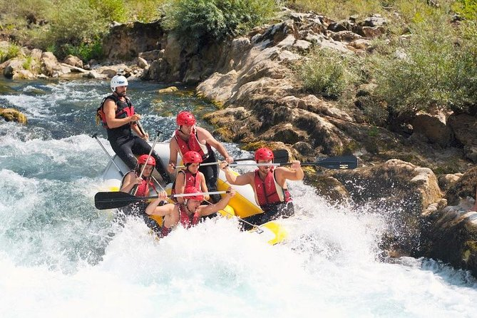 Feel the Wild Neretva Rafting experience in a Day Tour from Mostar