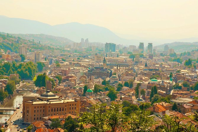 Going North and visit Sarajevo in a Day Tour from Mostar