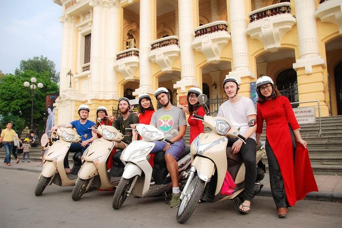 Half-Day Tour in Hanoi City by Motorbike