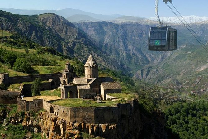"Group Tour: Khor Virap, Noravank, ""Devil's"" bridge, Tatev (wayback on Ropeway)"