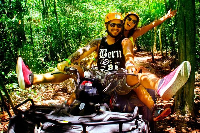 5-in-1 Adventure in Cancun: ATVs, Ziplines, Speed Boat, Snorkel and Cenote Swim