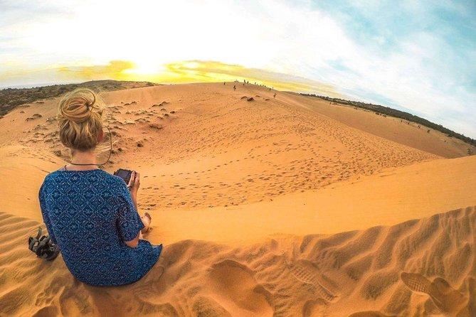 Mui Ne Sunrise Sand Dune Half Day Tour from Muine