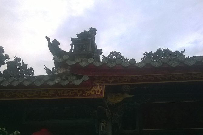 Danang tour of Marble mountains, Linh Ung Pagoda, Paracel Exhi-House, war museum photo 6
