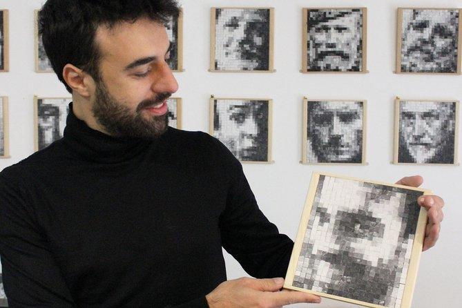 Portrait Mosaic Making