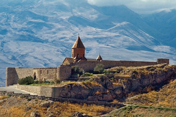 PRIVATE Guided tour to Khor Virap monastery and beautiful view to mount Ararat