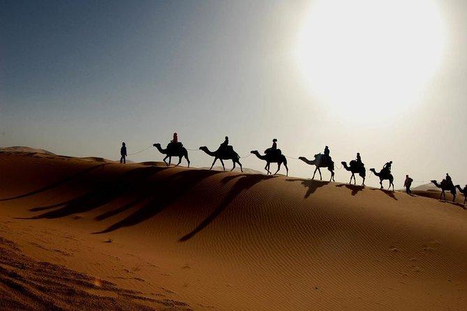 Full day trip from zagora to erg chegaga desert