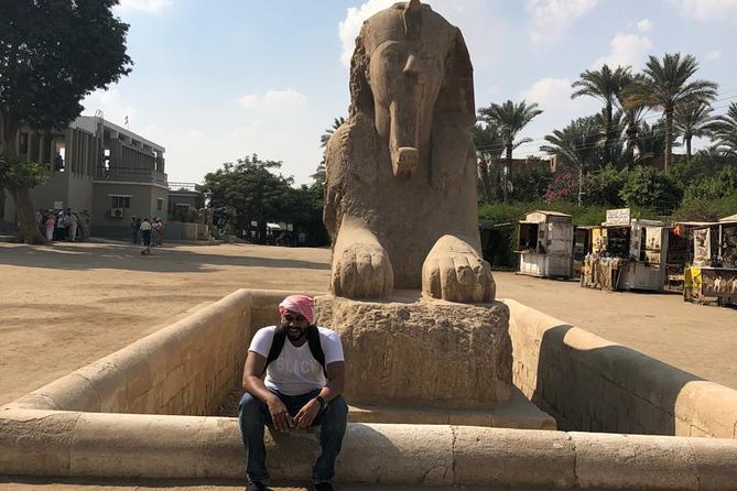 Guided Tour to Giza Pyramids, Sphinx, Sakkara, and Memphis photo 4