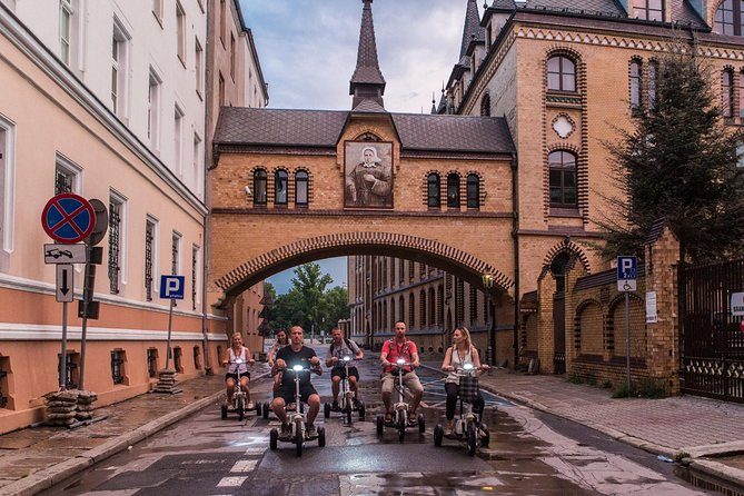 The Classic E-Scooter (3 wheeler) Tour of Wroclaw - everyday tour at 6:30 pm photo 4