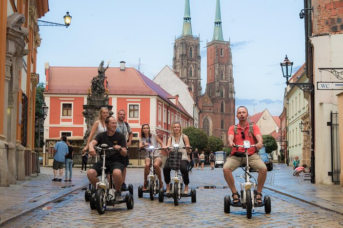 The Classic E-Scooter (3 wheeler) Tour of Wroclaw - everyday tour at 6:30 pm photo 2