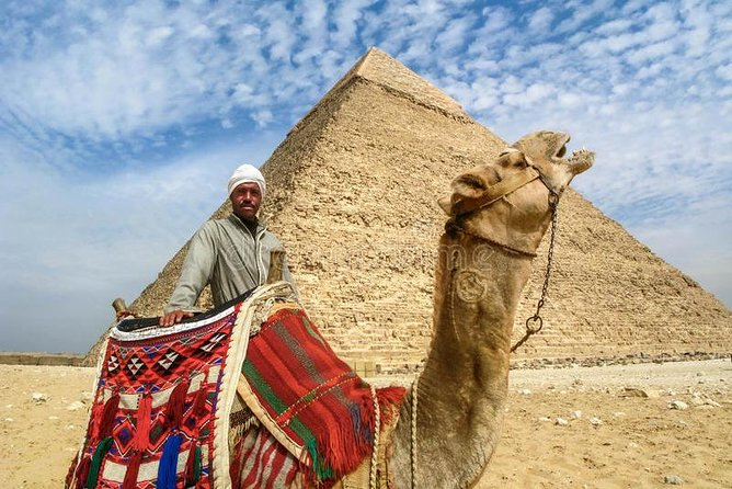 day tour pyramids of Giza ,Sphinx , Memphis old city & Sakkara step pyramids