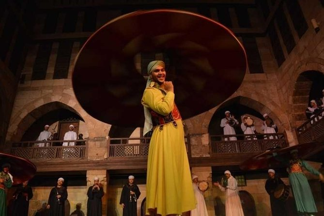 suffi dance Folk Night Show at Islamic Cairo from Cairo or Giza photo 1