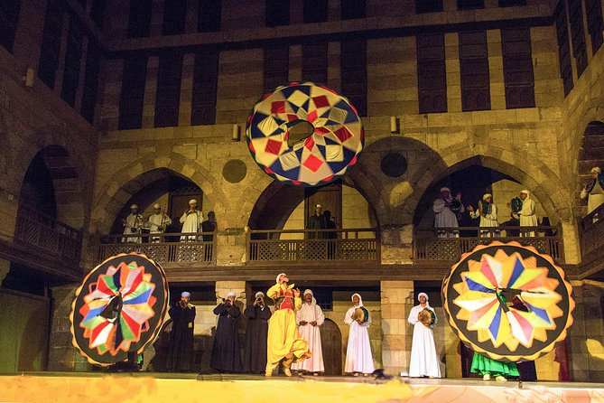 suffi dance Folk Night Show at Islamic Cairo from Cairo or Giza photo 8