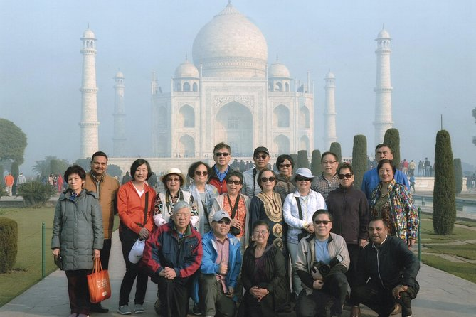 One day Agra sightseeing and drop at Delhi airport